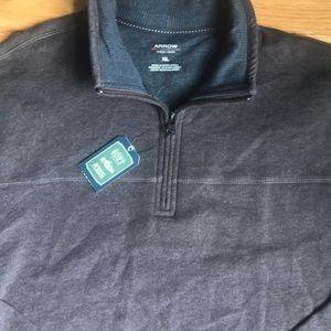 NWT! Pullover Quarter Zip Sweater Sweatshirt XL